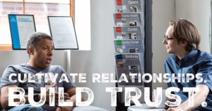 Cultivating Relationships Take Roots