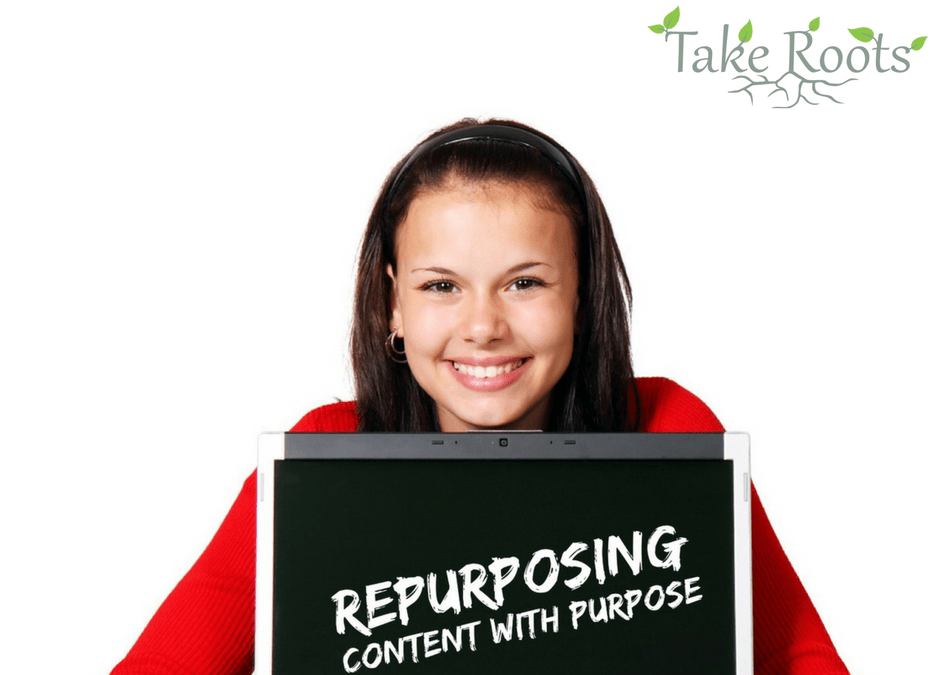 Repurposing Content with Purpose