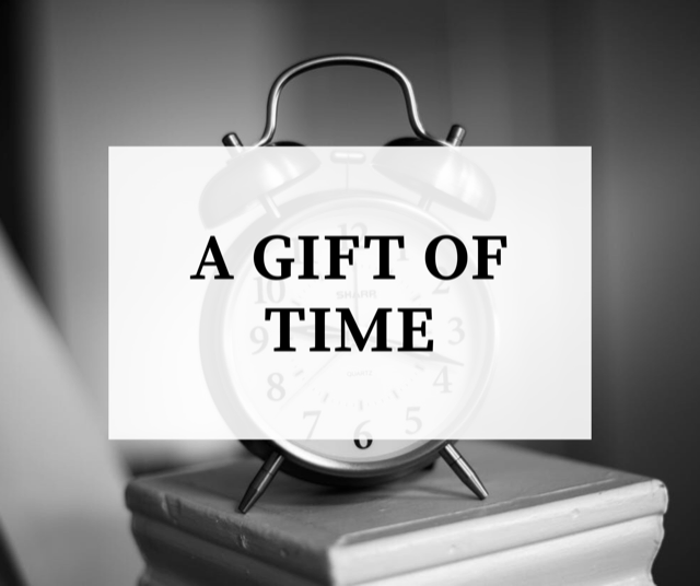 A Gift of Time